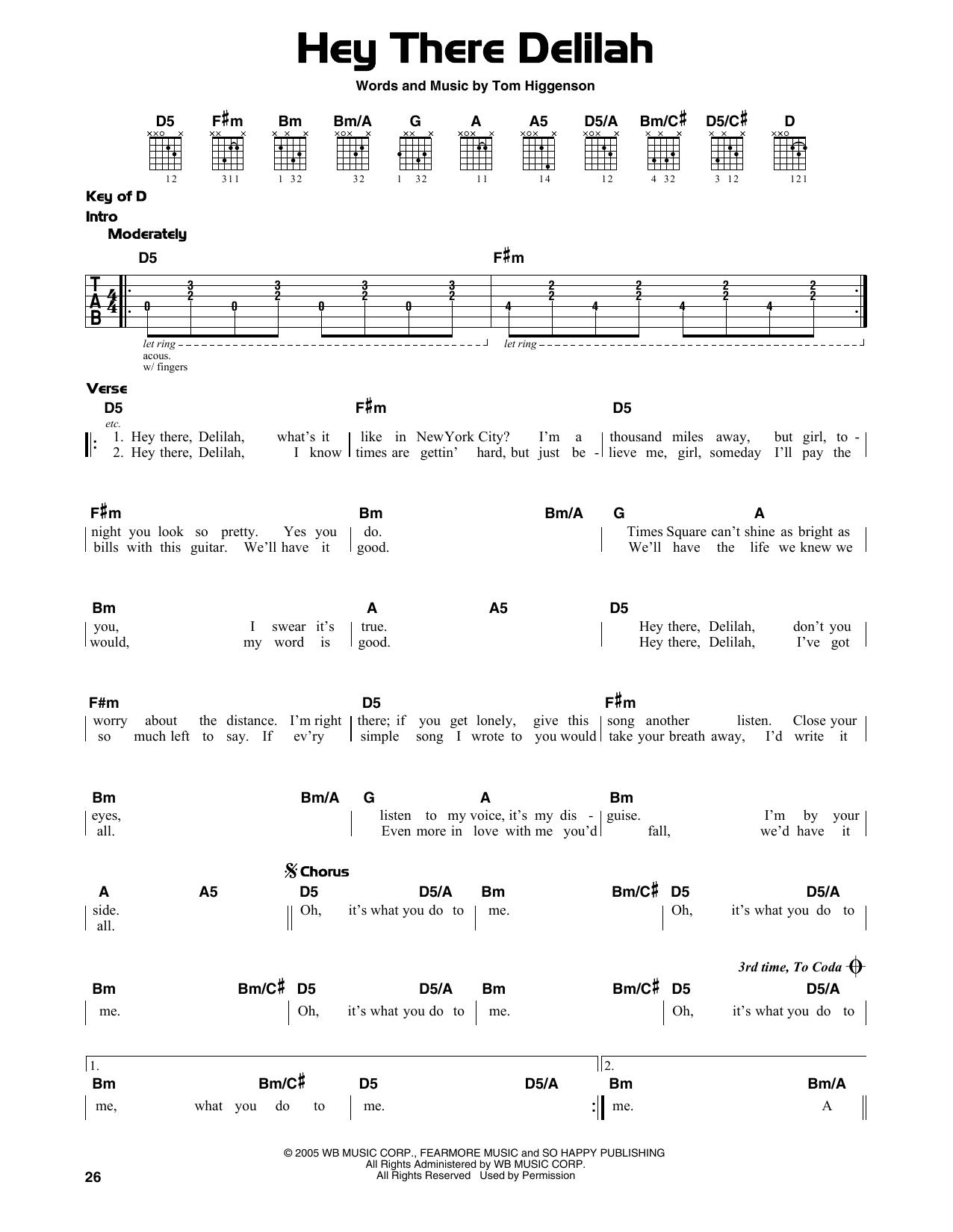 Pin by Anna on g u i t a r in 15   Guitar lessons songs, Delilah ...