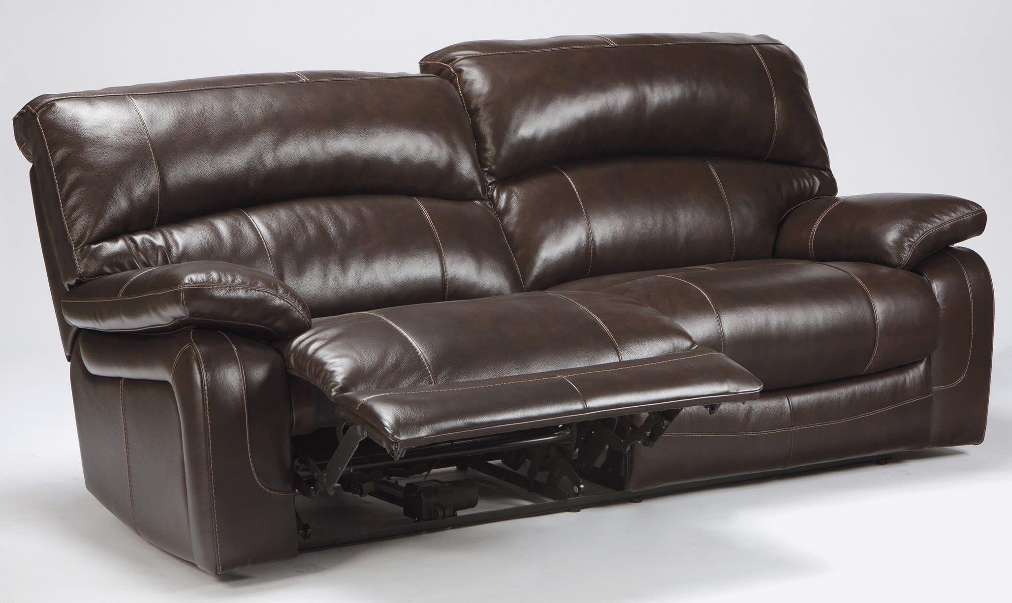 Damacio Sofa Leather Reclining Sofa Power Reclining Sofa