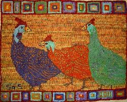 Hookws Rug By Sharon Smith From Her Website Off The Hook Wool Rugs