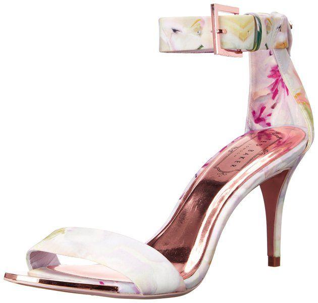 Ted Baker Women's Blynne Dress Sandal, Hanging Gardens, 8.5 M US