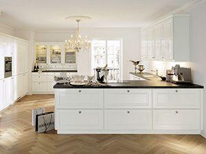 Landhauskuchen Von Mobel Hoffner Ihre Kuche Im Landhausstil Haus Kuchen Landhauskuche Kuchendesign Modern