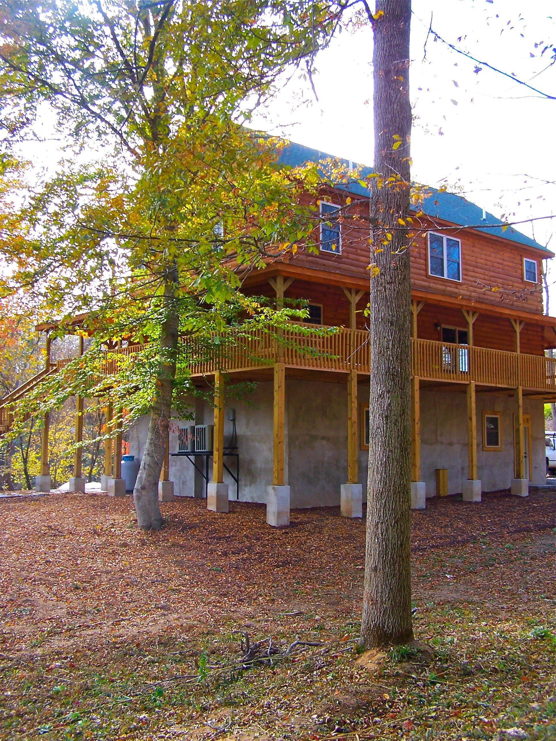 Savannah Log Home Series created by Blue Ridge Log Cabins loghome