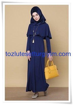 aa0c3d27a1ede tozlu giyimdeki tesettür elbise modelleri her geçen gün artıyor.  fiyatlarıyla cazip bulunan günlük, spor