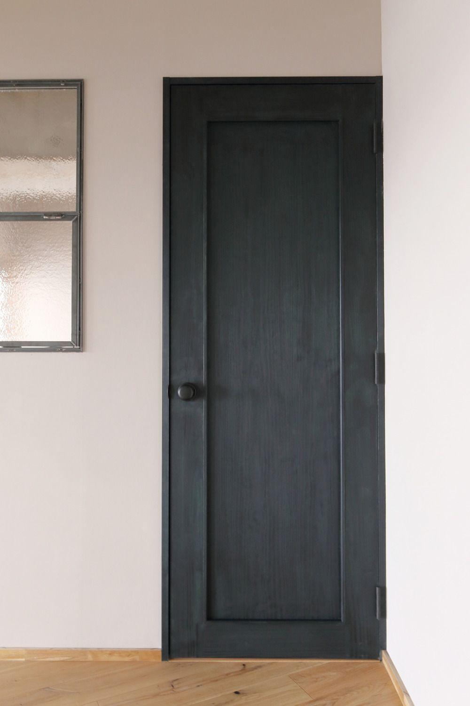 イエナカ手帖 アパートのレイアウト 室内ドア ドアリフォーム