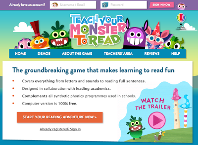 Teach Your Monster To Read Trailer