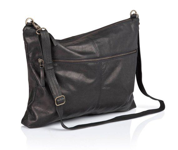1cce198c31fa Silk Black leather bag - soft leather purse SALE leather shoulder bag  crossbody bag women messenger