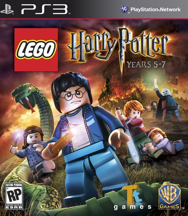 Lego Harry Potter Years 5 7 Spill