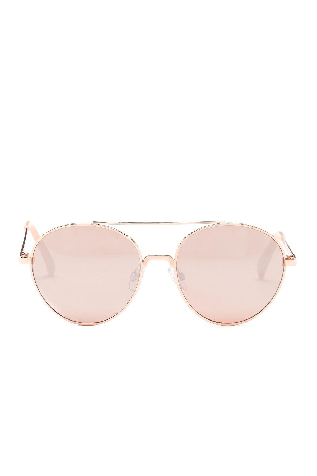 Women's Round Aviator Sunglasses
