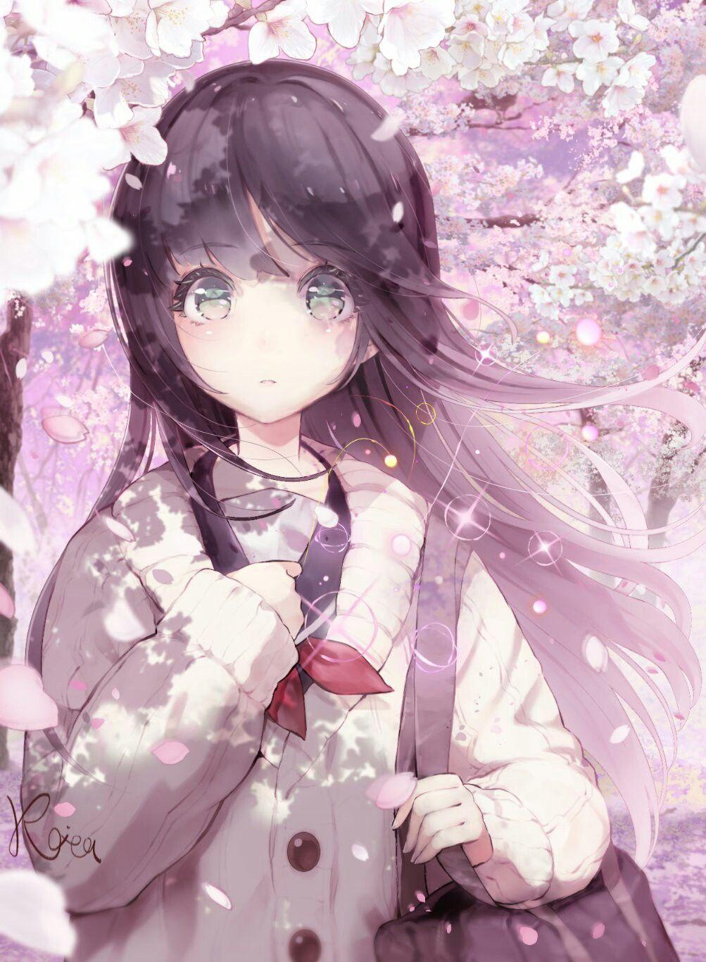 Anime Girl Original Art By Hoshizaki Reita