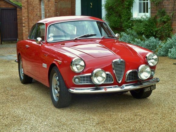Event Driver: 1960 Alfa Romeo Giulietta Sprint