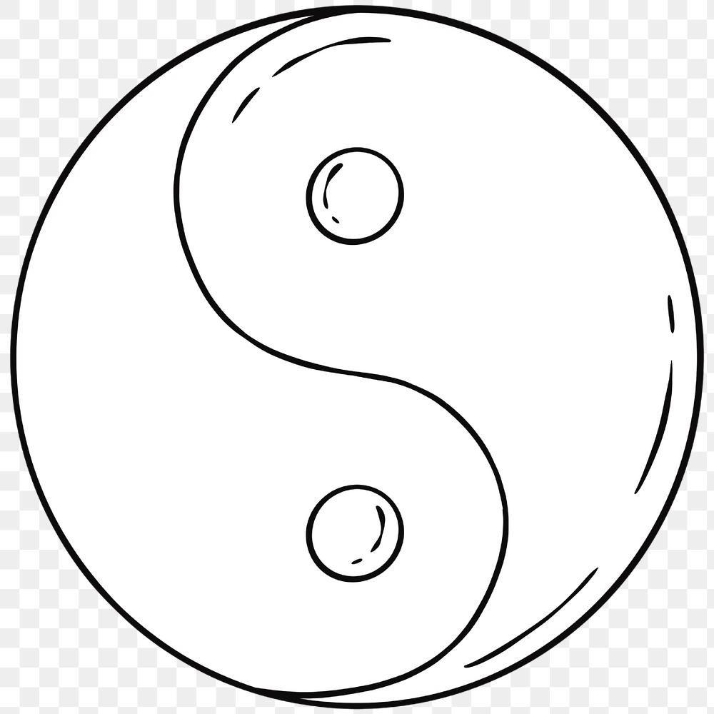 White Yin Yang Symbol Png Free Image By Rawpixel Com Noon Yin Yang Symbols Png