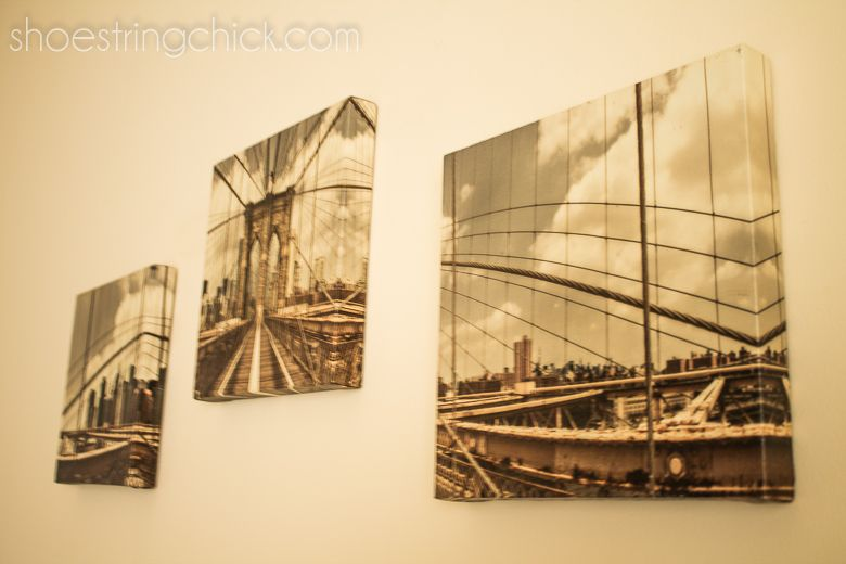 Hang Pictures Without Nails. Use #CommandPictureStrips #wallart ...