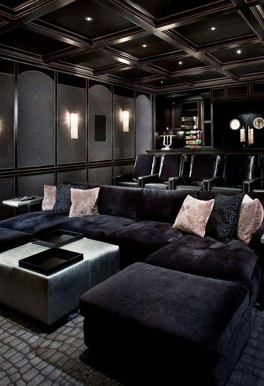 Gorgeous Theater Room Design Ideas 11 Home Cinema Room Home Theater Room Design Home Theater Decor