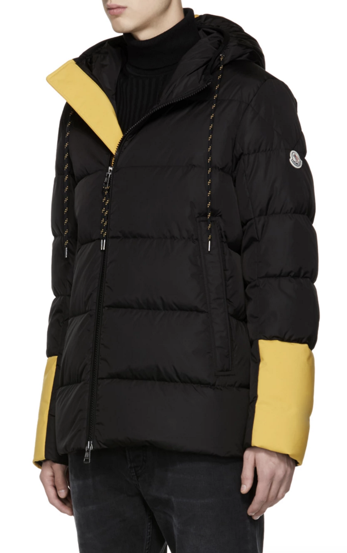 93eb011ab760 Moncler Black Down Drake Jacket from SSENSE (men
