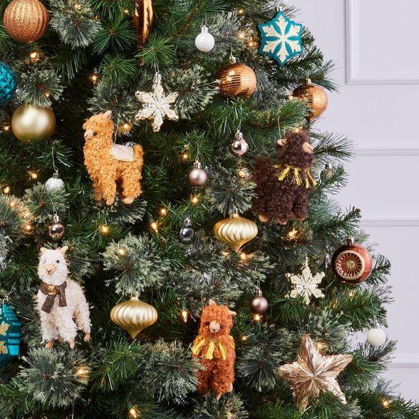 40ct Christmas Ornament Set Copper Emerald Bronze Gold Wondershop Tar In 2020 Green Christmas Tree Decorations White Christmas Ornaments Christmas Ornament Sets