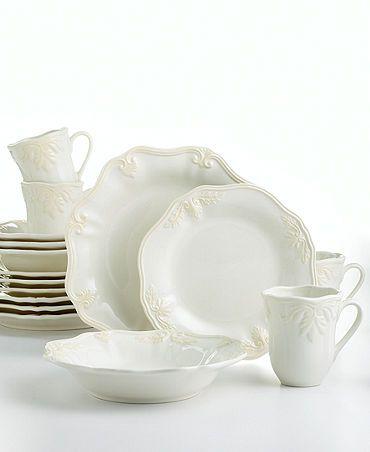 Casual Dinnerware Sets | Lenox Dinnerware Butler\u0027s Pantry 16 Piece Dinnerware Set - Casual .  sc 1 st  Pinterest & Casual Dinnerware Sets | Lenox Dinnerware Butler\u0027s Pantry 16 ...