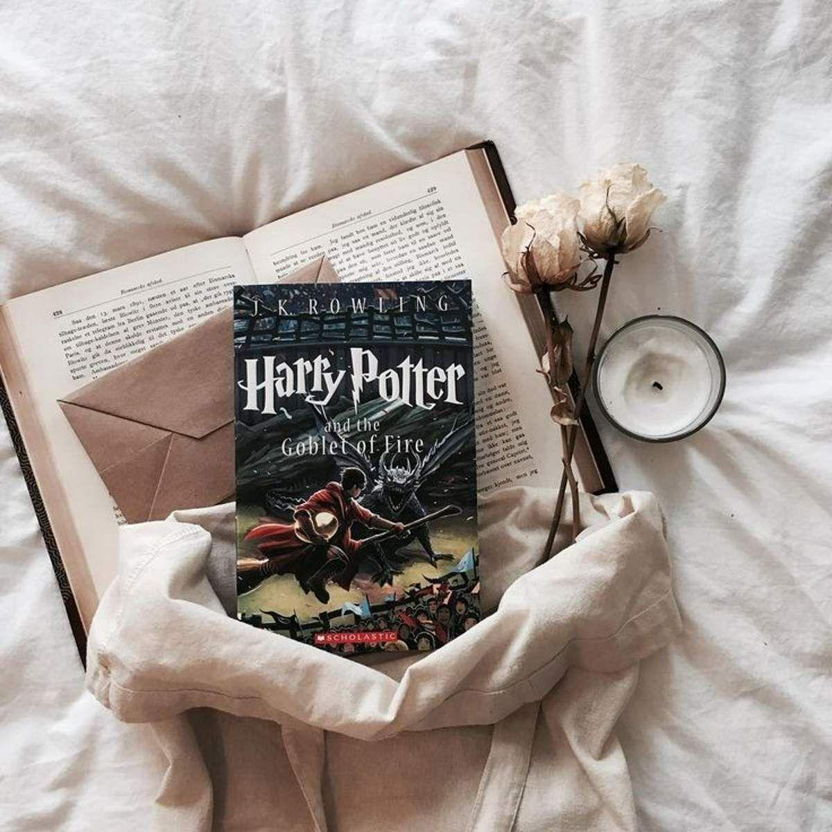 Pawanmanj Book Photography Harry Potter Books Book Flatlay