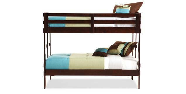 Bedroom Expressions Campus Twin Bunk Bed Ba Owcabbtt