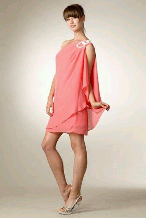Coral Mini Prom Natalia | Dress and more... | Pinterest | Minis ...