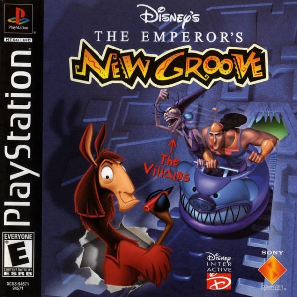 Disney S The Emperor S New Groove Usa Psx Iso Emperors New