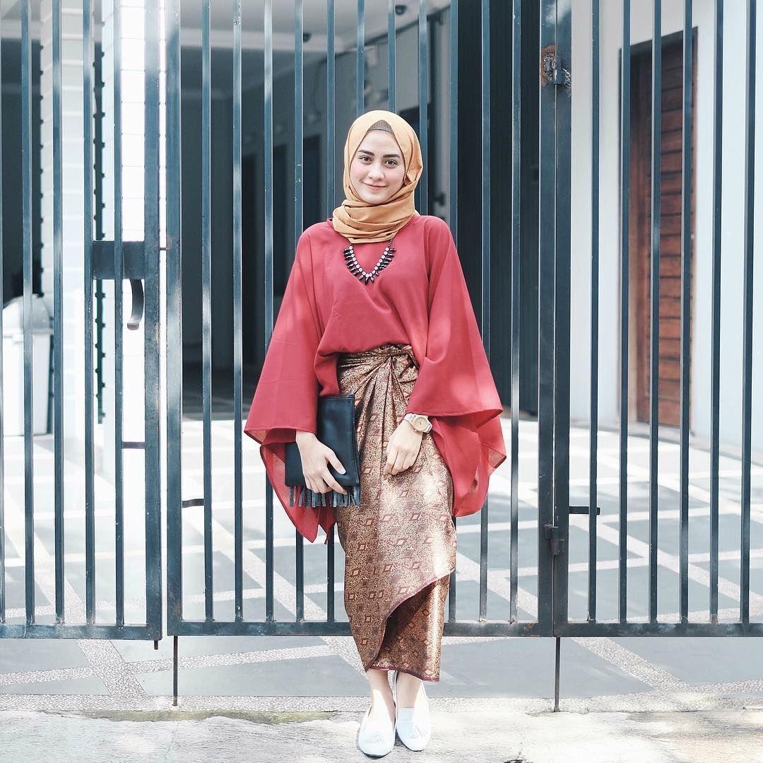 Model Kebaya Wisuda Modern Simple Busana Muslim Pinterest
