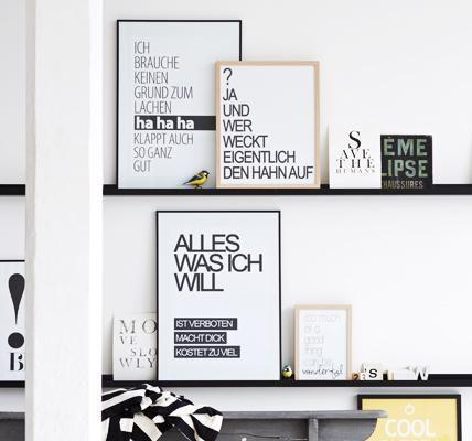 poster und drucke mit spr chen diy poster poster und drucke. Black Bedroom Furniture Sets. Home Design Ideas