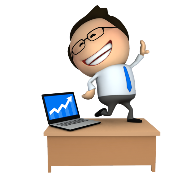 Happy successful business 3D Cartoon Guy | Free PNG images ...