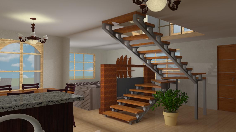 Espaciohonduras dise os y planos de casa de campo de dos for Disenos de casas 2 pisos