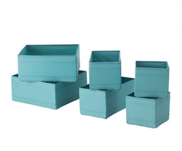 Ikea Skubb Organising boxes Set of 6 Blue. BNWT  sc 1 st  Pinterest & Ikea Skubb Organising boxes Set of 6 Blue. BNWT | Storage Ideas ...