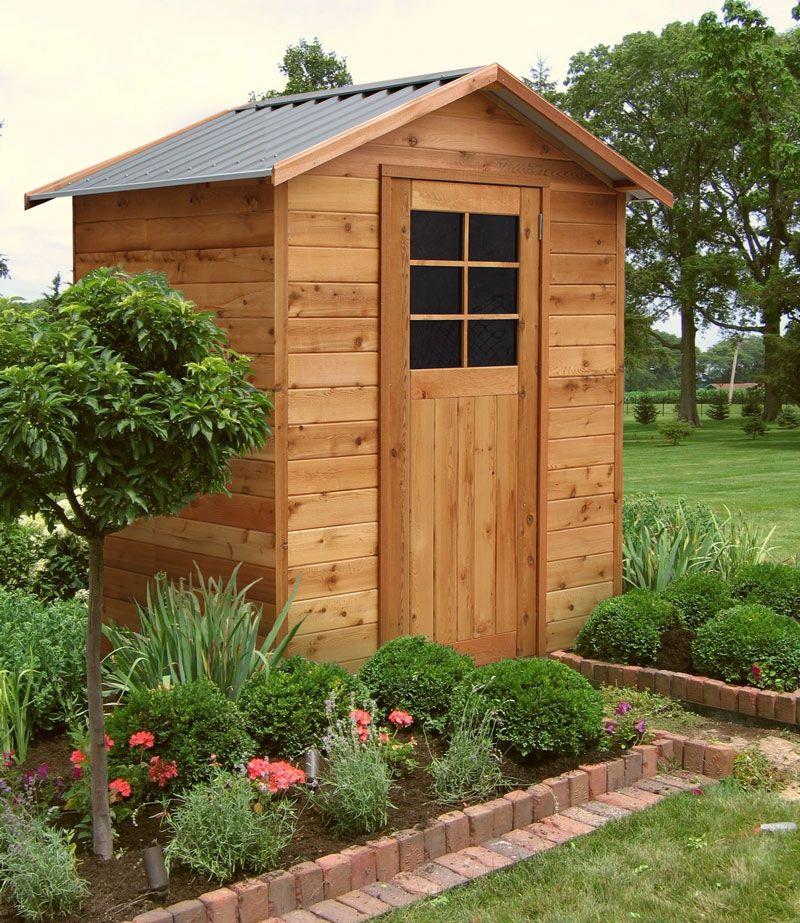 CEDAR SHED RICHMOND 6x4 Garden designs Cedar shed