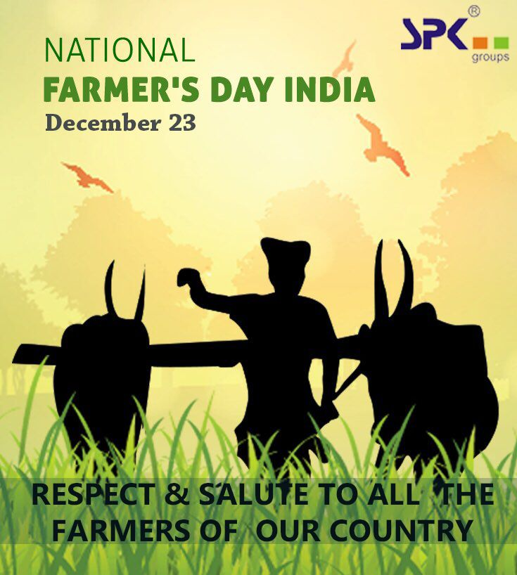 Farmers Day Quotes: Being A Farmer Means Shaking Hands With Nature. 23
