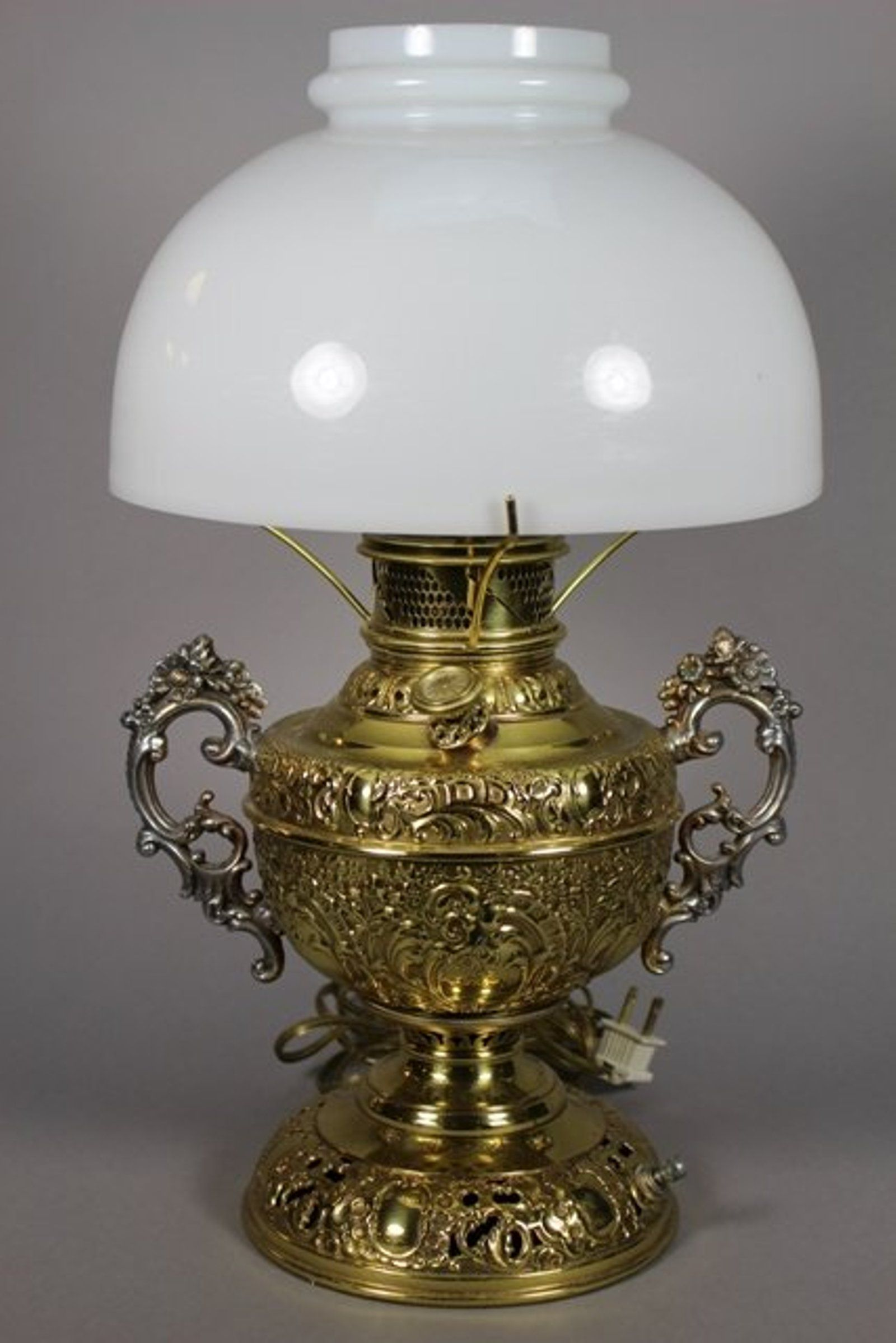 The Rochester Lamp Co. Oil Lamp Electrified