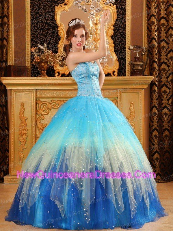 Multi-color Sweet 16 Ball Gown Sweetheart Beading - Cool for Under ...