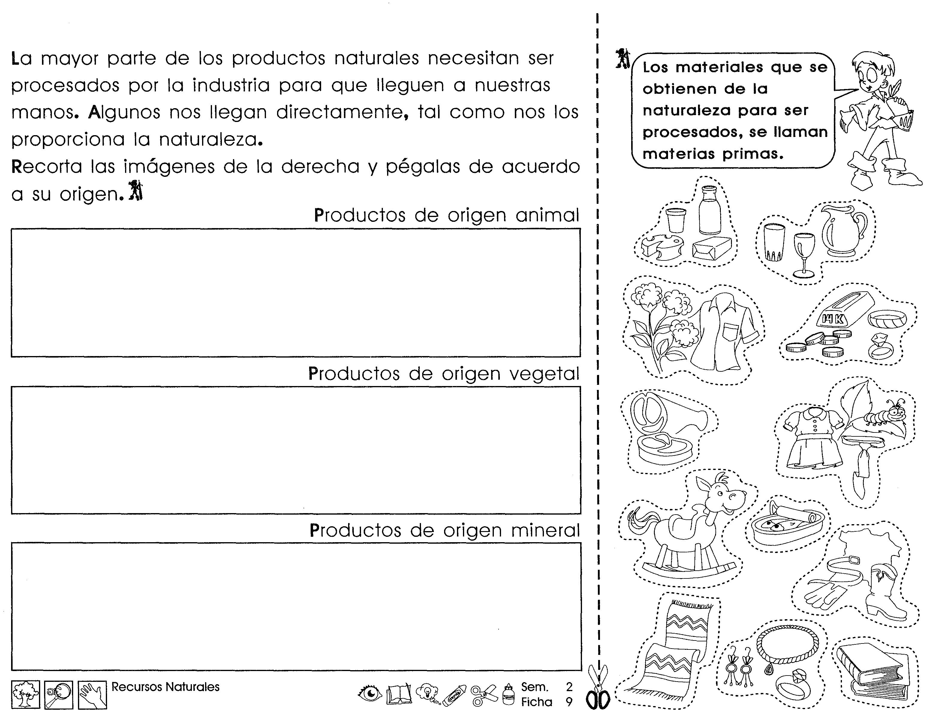 Recursos Naturales 3er Grado Material De Aprendizaje Libros De Tercer Grado Lectura De Tercer Grado Tercer Grado