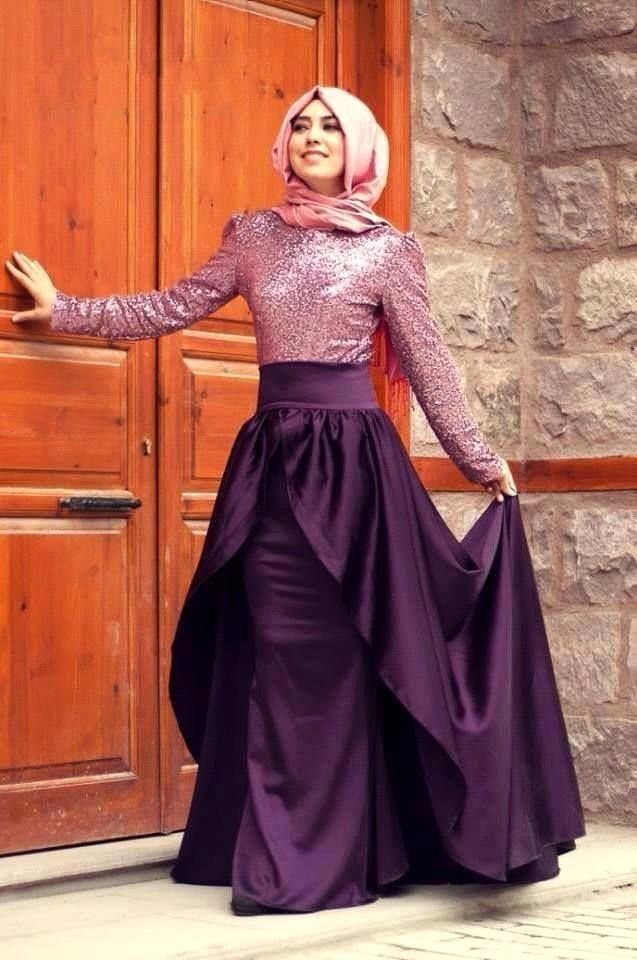 Dubai wedding dresses hijab style