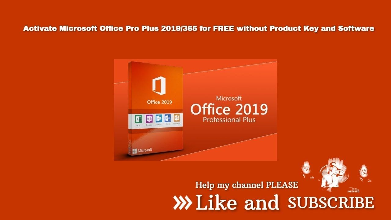 How to Activate Microsoft Office Pro Plus 2019/365 for