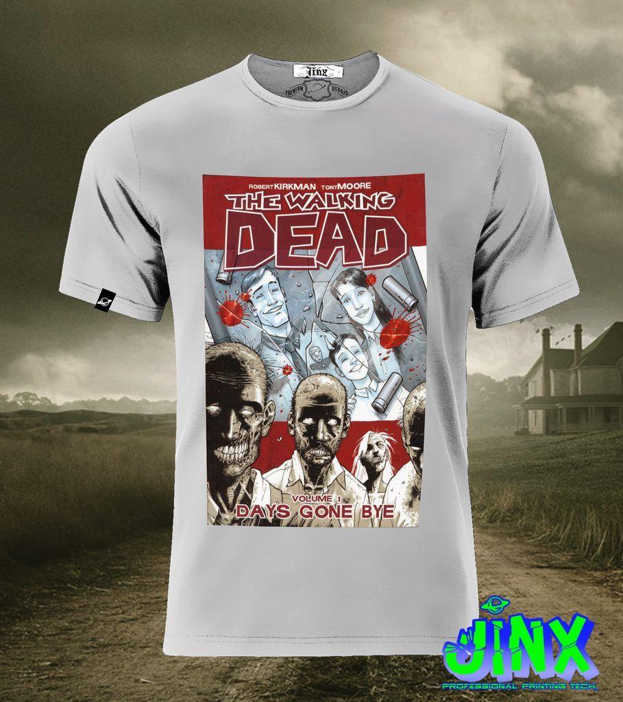17de77c4d6e1a  179.00 Playera o Camiseta Walkind Dead Comic - Comprar en Jinx ...