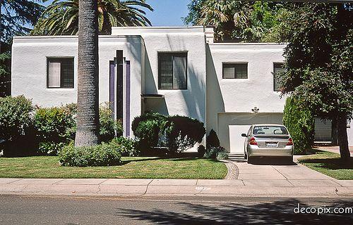 Art Deco House Sacramento California Art Deco Home Architecture Architecture Design