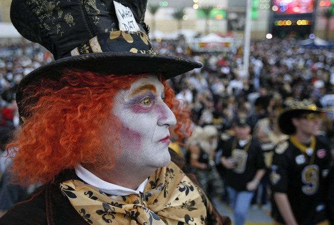 Halloween New Orleans Saints Game Costumes Halloween