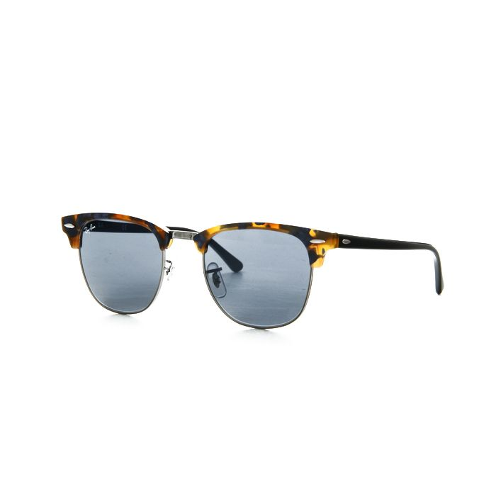 0badda1298f72 Ray-Ban RB3016-1158-R5 Clubmaster Havana Frame Grey Lens 51mm Sunglasses  NIB Our Price  84.95