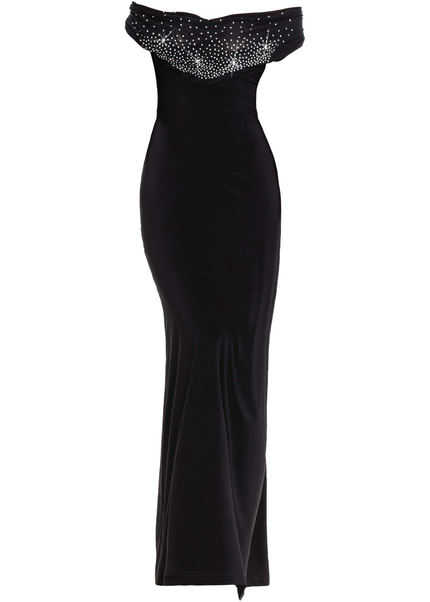 Kleid mit Deko-Steinen  Formelle kleider, Carmen kleid, Das