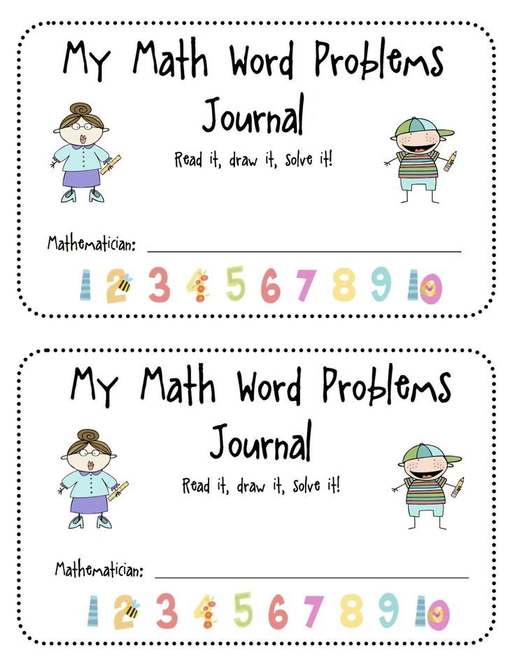 FREE Math Word Problems | KindergartenKlub.com | Pinterest | Math ...