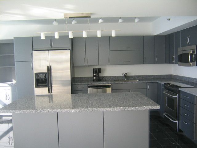 20 mind blowing gray kitchen cabinets design ideas gray kitchen rh pinterest com modern grey kitchen cabinet doors modern light grey kitchen cabinets