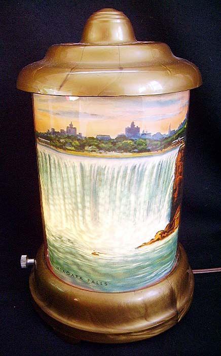 1950 S Niagara Falls Motion Lamp Memories Pinterest