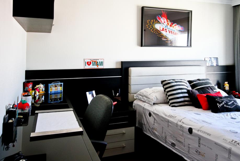 Decoração de quartos masculino solteiro – veja 40 modelos lindos dicas!  mov
