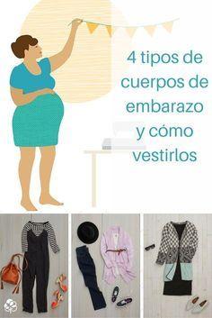 4 tipos de cuerpos de embarazo y cómo vestirlos (fotos)