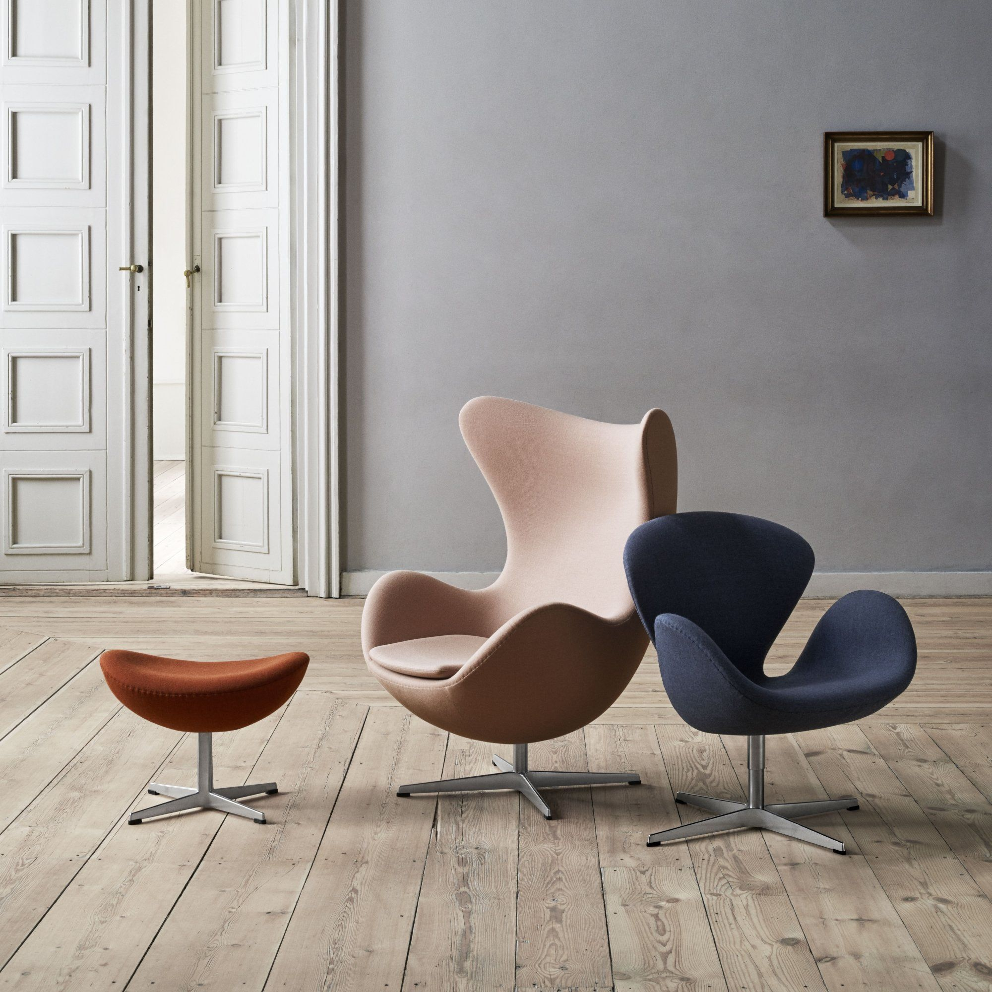 Le fauteuil Egg Fritz Hansen Assises Seats Pinterest
