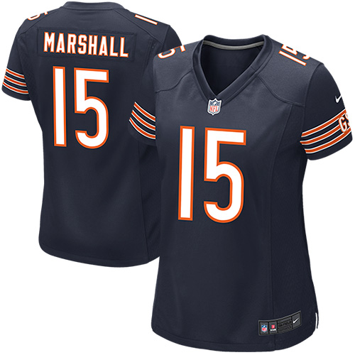 wholesale dealer 5311c 359f9 Nike Brandon Marshall Chicago Bears Women's Game Jersey ...