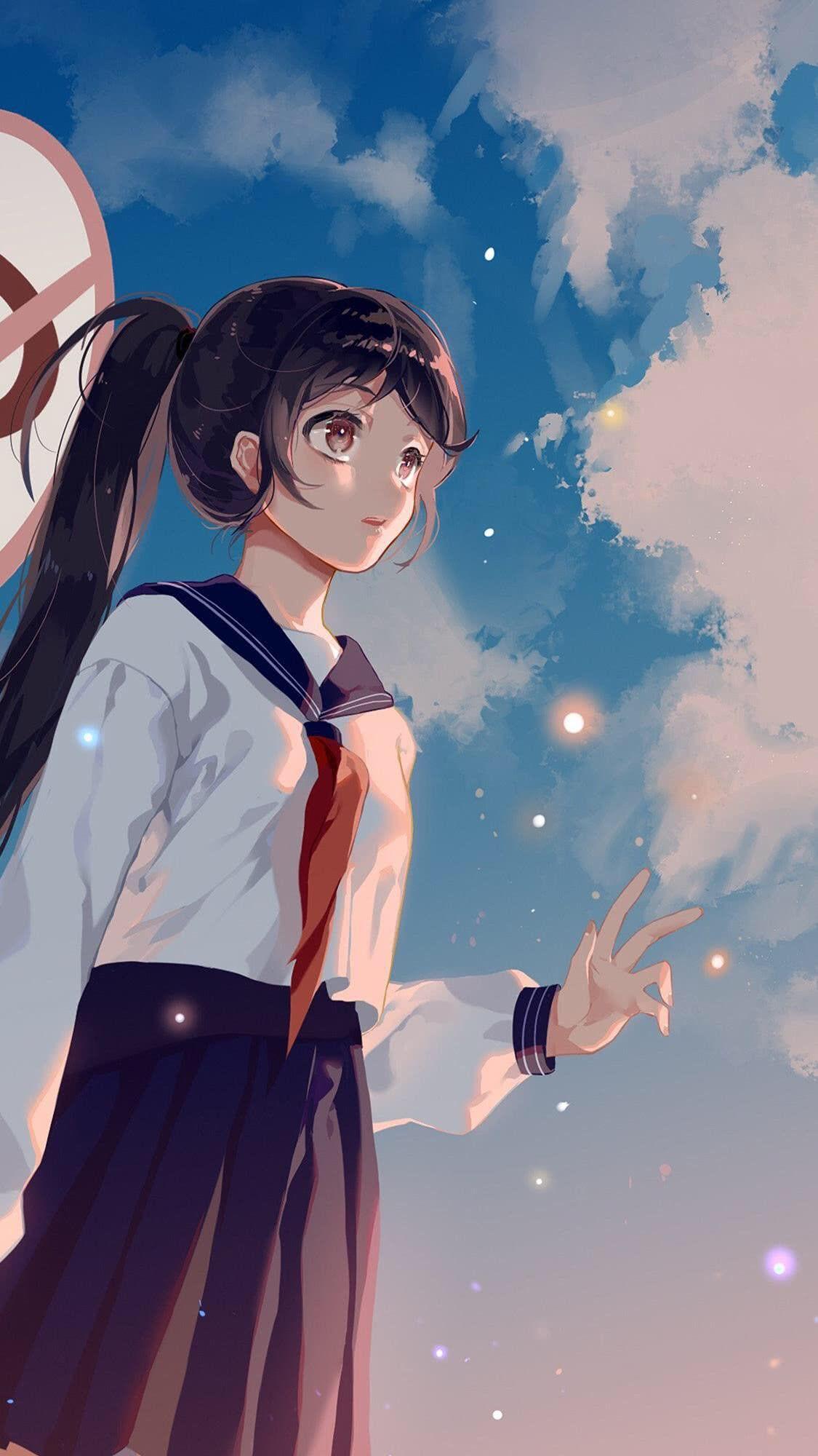 Beautiful Girl Anime Wallpaper Anime Mermaid Anime Wallpaper Iphone Anime School Girl
