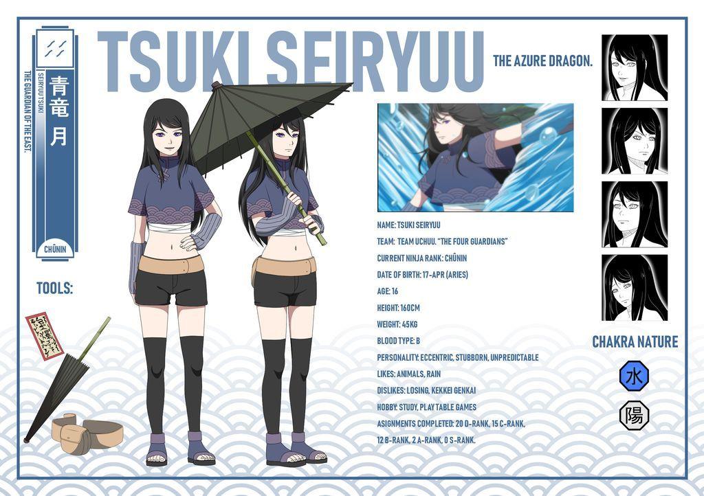 Naruto OC  Tsuki Seiryuu info by x-Cappuccino | Naruto ...